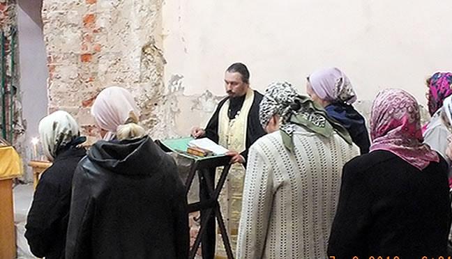 Восстановление Храма Ильи Пророка на на средства благотворителей