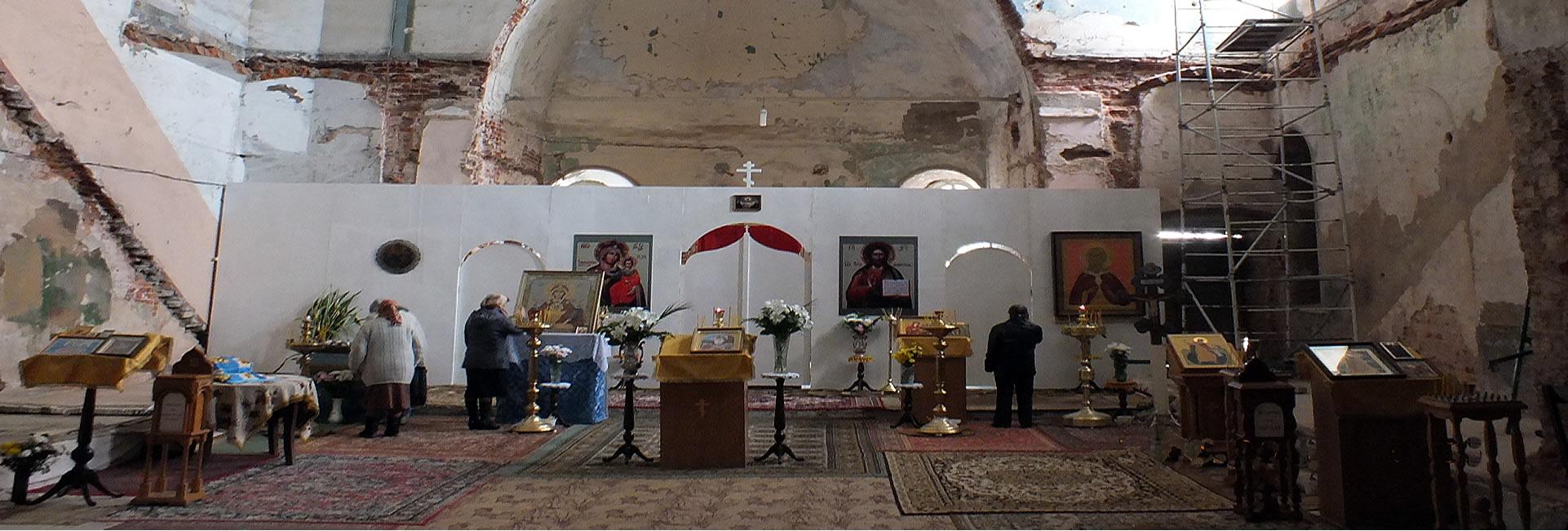 Храм был построен на средства благотворителей
